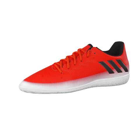 adidas Kinder Fussballschuhe MESSI 16.3 IN J RED CBLACK FTWWHT Größe 28,36,38 2 3