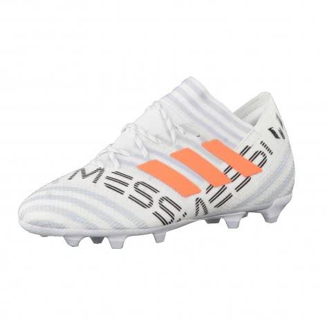 adidas Kinder Fussballschuhe NEMEZIZ MESSI 17.1 FG J FTWWHT SORANG CLEGRE Größe 35,35 1 2,36 2 3