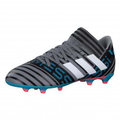 adidas Kinder Fussballschuhe NEMEZIZ MESSI 17.3 FG J grey ftwr white core black Größe 35 1 2