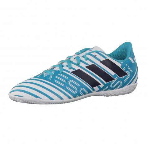 adidas Kinder Fussballschuhe NEMEZIZ MESSI 17.4 IN J FTWWHT LEGINK ENEBLU Größe 28,28 1 2,35