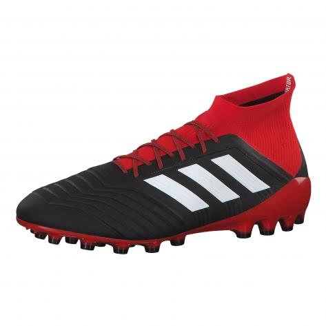 adidas Herren Fussballschuhe Predator 18.1 AG BB7746 42 CBLACK/FTWWHT/RED | 42