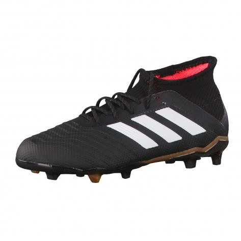 adidas Kinder Fussballschuhe Predator 18.1 FG J core black ftwr white solar red Größe 30 1 2,31 1 2,33,33 1 2,34,35 1 2,36,37 1 3,38