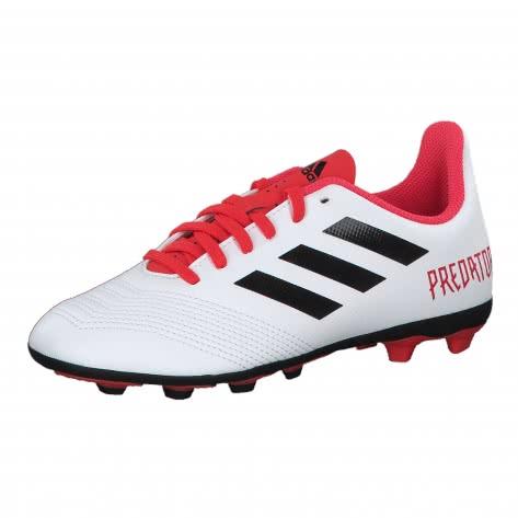 adidas Performance adidas Kinder Fussballschuhe Predator 18.4 FxG J  FTWWHT/CBLACK/REACOR Größe: