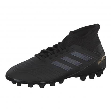 adidas Herren Fussballschuhe PREDATOR 19.3 AG EF8984 39 1/3 CBLACK/CBLACK/GOLDMT | 39 1/3