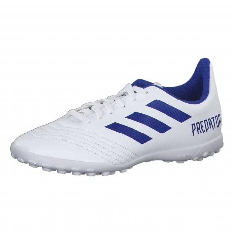 adidas Kinder Fussballschuhe PREDATOR 19.4 TF J CM8558 35 1/2 FTWWHT/BOBLUE/FTWWHT | 35 1/2