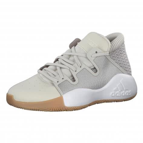 adidas Kinder Basketballschuhe Pro Vision J CG6506 35 1/2 RAWWHT/LBROWN/GUM3   35 1/2