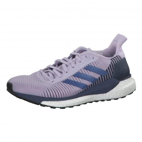 adidas Damen Laufschuhe Solarglide ST 19 EE4304 38 Purple Tint/Boost Blue Violet Met./Tech Indigo | 38