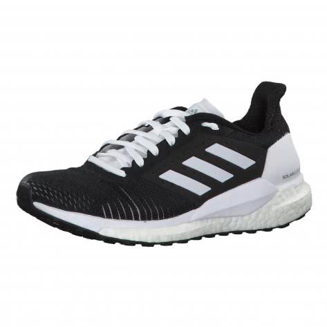 adidas Damen Laufschuhe SOLAR GLIDE ST W BB6617 39 1/3 core black/core black/ftwr white | 39 1/3