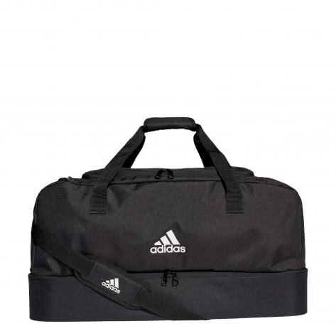adidas Sporttasche TIRO DUFFEL BAG mit Bodenfach Gr.L DQ1081 black/white | L