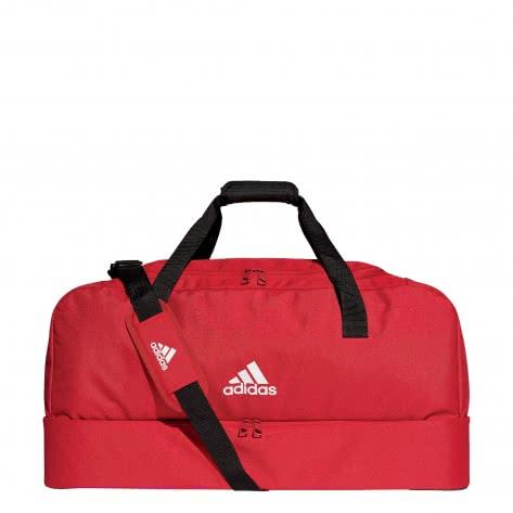 adidas Sporttasche TIRO 19 DUFFEL BAG mit Bodenfach Gr.L DU1990 power red/white | L