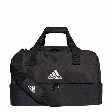 adidas Sporttasche TIRO 19 DUFFEL BAG mit Bodenfach Gr.S DQ1078 black/white | S