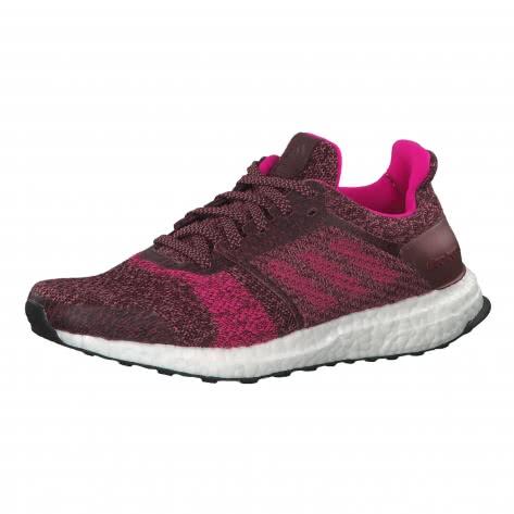 adidas Damen Laufschuhe UltraBOOST ST BB6485 37 1/3 night red/shock pink/trace maroon | 37 1/3