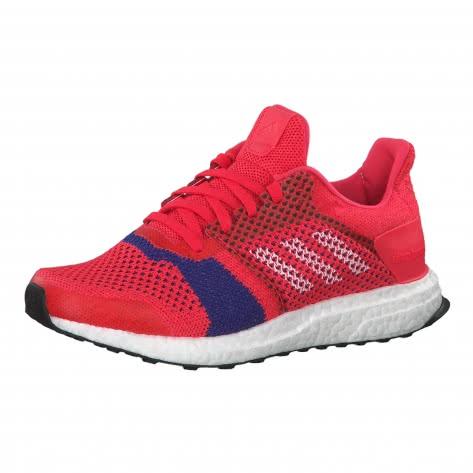adidas Damen Laufschuhe UltraBOOST ST w B75867 38 shock red/ftwr white/active pink | 38