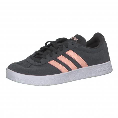 adidas CORE Damen Sneaker VL Court 2.0 W EE6786 44 grey six/glow pink/ftwr white | 44