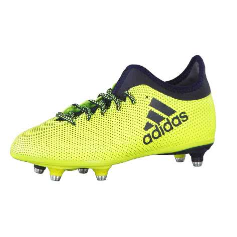 adidas Kinder Fussballschuhe X 17.3 SG J SYELLO LEGINK LEGINK Größe 36 2 3,37 1 3