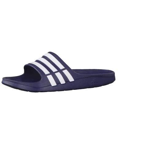 adidas Badeschlappen Duramo Slide G15892 53 1/3 new navy/new navy/white | 53 1/3