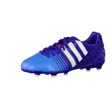 adidas Fussballschuhe Nitrocharge 1.0 FG J amazon purple f14 ftwr white solar blue2 s14 Größe 36 2 3,37 1 3