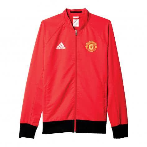 adidas Herren Manchester United Woven Anthem Jacke 2015/16 Real Red/Black Größe: S,XS