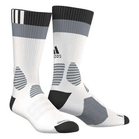 adidas Fussballsocken ID Socks Light white black grey Größe 27 30