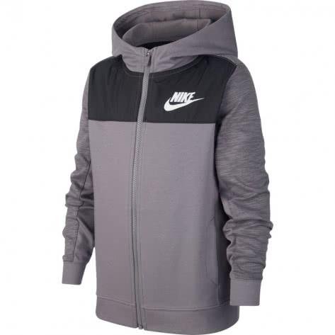 Nike Jungen Sweatjacke Advance 15 AJ0117-057 137-147 GUNSMOKE/GUNSMOKE/BLACK/WHITE | 137-147