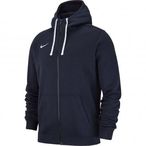 Nike Herren Kapuzenjacke Club 19 Full Zip Hoody AJ1313
