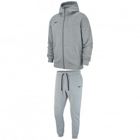 Nike Kinder Trainingsanzug Club 19 Sweat Suit AJ1458+AJ1549-063 128-137 Dark Grey Heather/Black   128-137