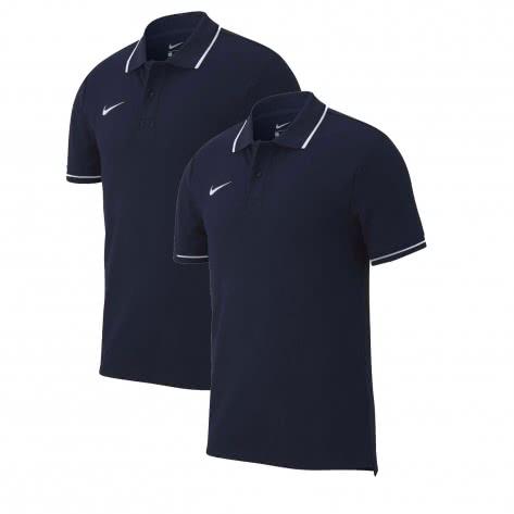Nike Herren Poloshirt Club 19 Polo 2Pack AJ1502