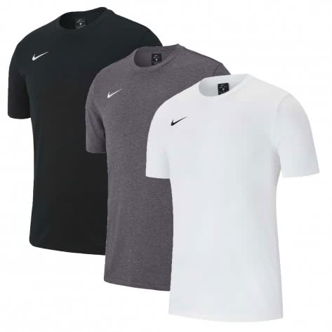 Nike Herren T-Shirt Club 19 Tee 3Pack AJ1504