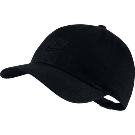 Nike Kinder Kappe Heritage86 AJ3651 Black Black Größe One size