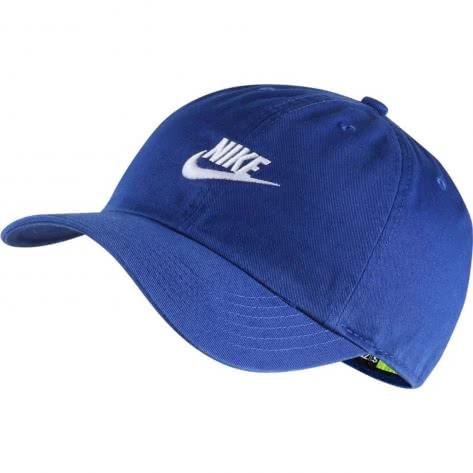 Nike Kinder Kappe Heritage86 AJ3651-438 Indigo Force/White | One size