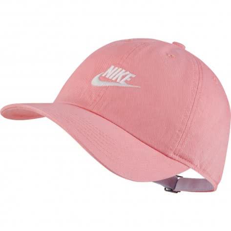 Nike Kinder Kappe Heritage86 AJ3651-842 Flamingo/White/Football Grey   One size