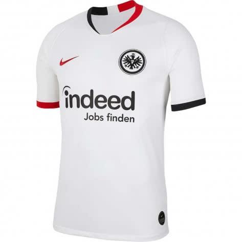 Nike Herren Eintracht Frankfurt Away Trikot Stadium 2019/20 AJ5564-101 S White/University Red | S
