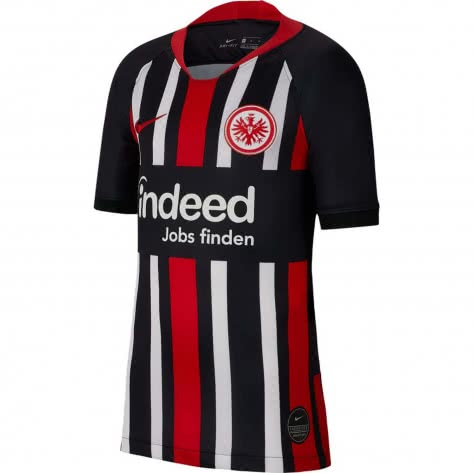 Nike Kinder Eintracht Frankfurt Home Trikot Stadium 2019/20 AJ5828-011 158-170 Black/University Red | 158-170