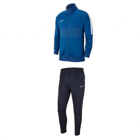 Nike Kinder Trainingsanzug Academy 19 Track Suit K AJ9289+AJ9291-404 128-137 Marina/White | 128-137