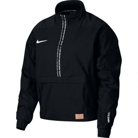 Nike Damen Midlayer Nike F.C. Dry QZ AQ0657-010 XL Black/Black/White | XL