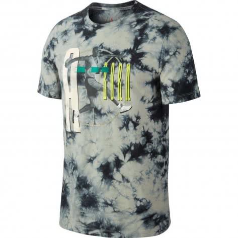 Jordan Herren T-Shirt Jordan Washed AQ3754-334 M Spruce Fog/Black | M