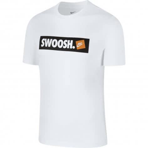 Nike Herren T-Shirt Swoosh BMPR STKR Tee AR5027