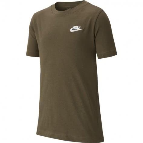 Nike Jungen T-Shirt Tee emb Futura AR5254 CARGO KHAKI Größe 128 137,137 147,147 158,158 170