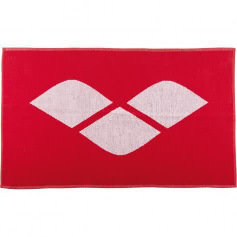 Arena Handtuch klein Hiccup 2A487 Red, White Größe: One size