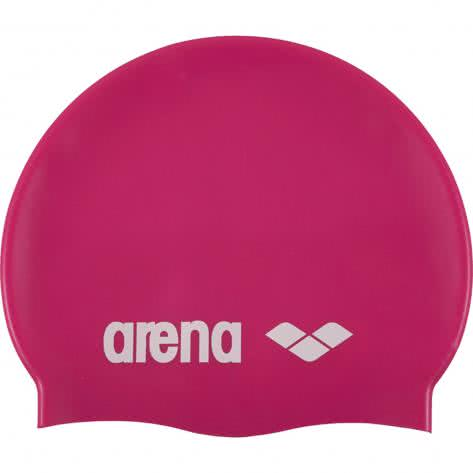 Arena Badekappe Classic Silicone 91662-91 Fuchsia/White | One size