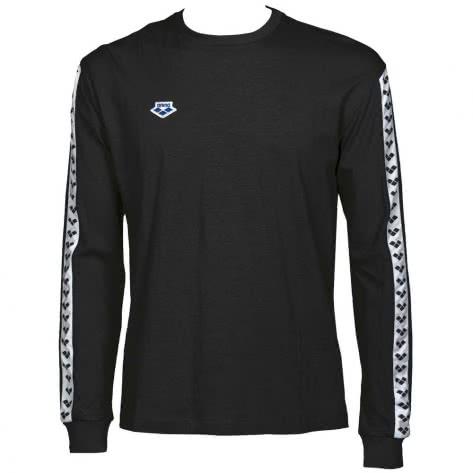 Arena Herren Longsleeve Shirt Team 001784-501 XXL BLACK-WHITE-BLACK   XXL