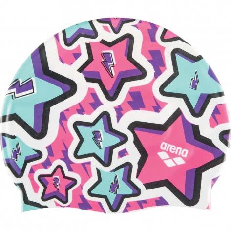 Arena Kinder Badekappe Print Jr 94171-207 One size Frolic Violet | One size