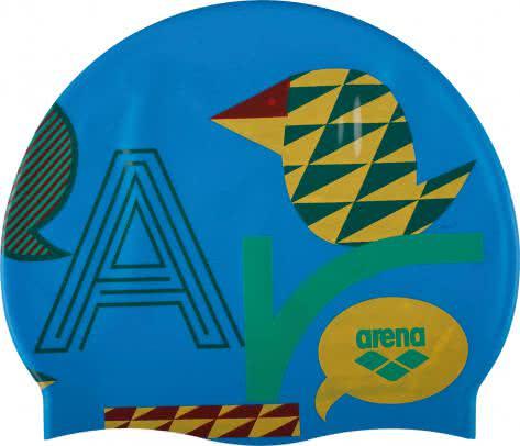 Arena Kinder Badekappe Print Jr 94171-39 HanselGretel-Turquoise | One size