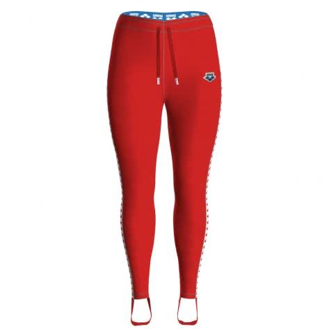 Arena Damen Vintage Sport Hose Caroline Team 001228 RED-WHITE-RED Größe: S,XS