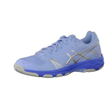 Asics Damen Hallenschuhe Gel-Domain 4 E659Y-3993 38 Airy Blue/Silver/Regatta Blue | 38