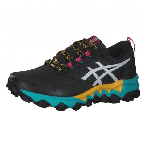 Asics Damen Trail Laufschuhe Gel-FujiTrabuco 8 G-TX 1012A573-003 39.5 Black/White | 39.5