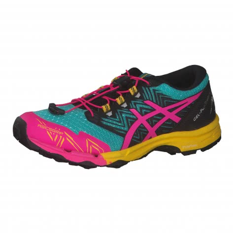 Asics Damen Trail Laufschuhe GEL-FujiTrabuco SKY 1012A770-300 42 Sea Glass/Pink Glo | 42