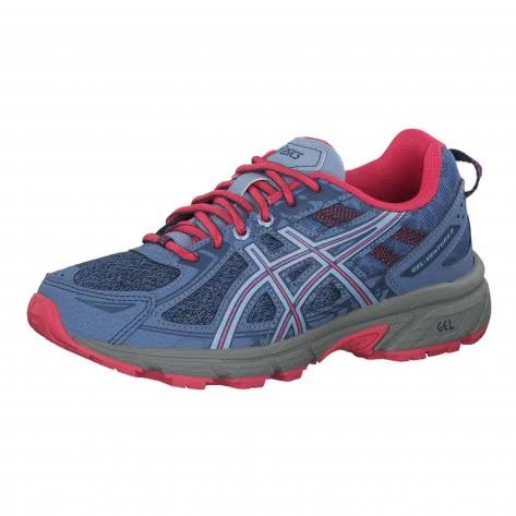 Asics Kinder Trail Laufschuhe Gel-Venture 6 GS 1014A077-400 37.5 BLUE HARMONY/PINK CAMEO | 37.5