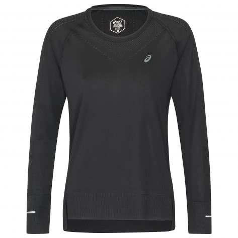 Asics Damen Langarmshirt Seamless LS 154545-001 L SP Performance Black | L