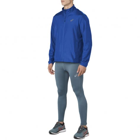Asics Herren Laufjacke Silver Jacket 2011A024-405 S Illusion Blue | S